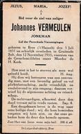 Bree, Gruitrode Solt, 1933, Johannes Vermeulen - Andachtsbilder