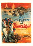 Cinema - Affiche De Film - Dunkerque - Illustration De Leslie Norman - Carte Neuve - CPM - Voir Scans Recto-Verso - Posters On Cards