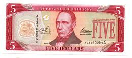 Liberia / 5 Dollars 2003 / UNC - Liberia