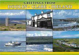 Irlande - Clare - Doolin - Multivues - CPM - Voir Scans Recto-Verso - Clare