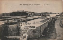 02 TERGNIER - Ecluse Du Canal ( Péniche ) - Sonstige Gemeinden