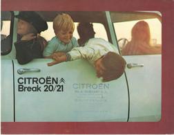 Catalogue Publicitaire  Break CITROEN  20/21 - Publicités