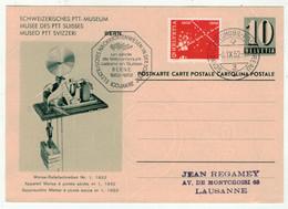 Suisse // Schweiz // Switzerland // Entier Postaux  // 1952 //  Entier Postal  BPA Au Départ De Bern (A597) - Interi Postali