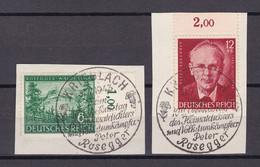 Deutsches Reich - 1943 - Michel Nr. 855/856 - Sonderstempel - Used Stamps