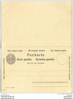 4 - 95 - Entier Postal  Double Neuf 5 Cts - Interi Postali