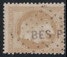 EMPIRE - N°28A - LOSANGE AMBULANT - BES P - COTE TIMBRE 20€. - 1849-1876: Classic Period