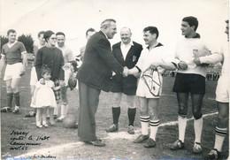 Photo De Presse (13 X 18 Cm)  : Football - Match JERSEY Contre Le Stade Lannionais - Avril 1962 (BP) - Sporten