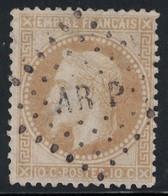 EMPIRE - N°28A - LOSANGE AMBULANT - AR P - COTE TIMBRE 20€. - 1849-1876: Classic Period