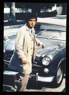 ●█● Automobile  PEUGEOT 403 Cabriolet De L'inspecteur Avec Cigare  -  CPM Collection Détective Columbo - Turismo