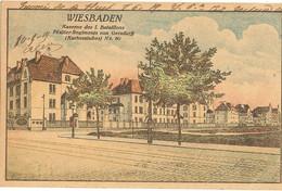WIESBADEN - Kaserne Des 1er  Bataillons  218 - Andere