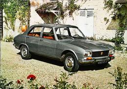 ●█● Automobile PEUGEOT 504 Berline  - Carte Garage  Vauban  Saint Germain En Laye - Turismo