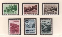 BELGIE 1953 * Nr 918/23 * Postfris Xx * OBP/COB  € 95,00 - Unused Stamps