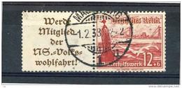 Allemagne  -  Reich  -  Se Tenant  :  Mi  W  127  (o)      ,    N2 - Zusammendrucke