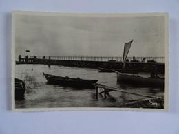 CPSM 74 HAUTE SAVOIE Port De SCIEZ Le Lac Léman  TBE - Sciez