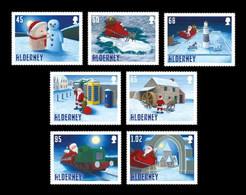 Alderney 2020 Mih. 692/98 Christmas. Santa's Visit MNH ** - Alderney