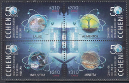 2014 Chile Nuclear Energy Complete Block Of 4 MNH - Chile