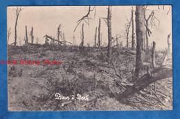 CPA Photo - Bois Du VERT Prés BOIRY NOTRE DAME / MONCHY Le PREUX - Le No Man's Land - Forêt WW1 Guerre Front - Guerra 1914-18
