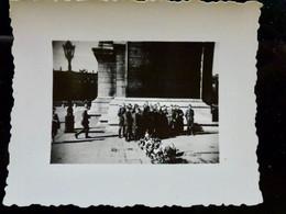 PHOTO ORIGINALE _ VINTAGE SNAPSHOT : WEHRMACHT à PARIS _ OCCUPATION     //BaK.L1 - Guerra, Militares
