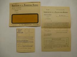 MANDAT RADIO DIFFUSION : Octobre 1940 Avec Lettre Et Enveloppe - Unclassified