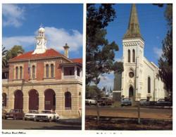 (U 1) Australia - NSW - Grafton Post Office And Church (GF2) - Australië