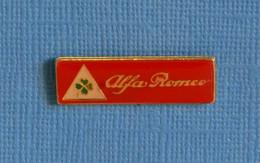 1 PIN'S //  ** LOGO / TRÈFLE A QUATRE FEUILLES / ALFA ROMÉO ** - Alfa Romeo