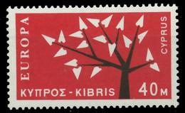 ZYPERN 1962 Nr 216 Postfrisch X9B036A - Unused Stamps