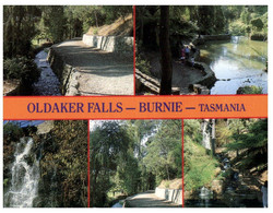 (U 1 A) Australia - TAS - Burnie Oldaker Falls (TP754 With Bird Stamp) - Wilderness