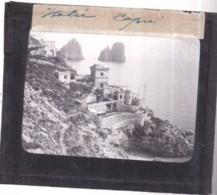Italie - CAPRI - Plaque De Verre - Format : 8,5 X 10 Cm - (circa 1900) - Andere Steden