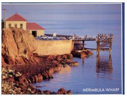 (U 1 A) Australia -  NSW - Merimbula Wharf (with Cycling Stamp) - Australië