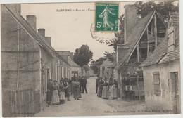 CPA  72  SURFOND RUE DE L EGLISE - Andere Gemeenten