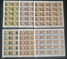 Stamps Complete Set In Sheets Chess Master Perf. - Chess