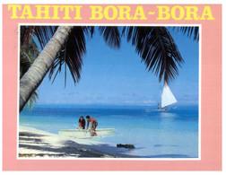 (U 3) (NA) Tahiti - Posted To France 1991 - Bora-Bora - Tahiti