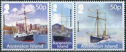Ascension Island 2012. Shackleton-Rowett Polar Expedition (MNH OG) Block - Ascension