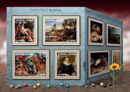 Sierra Leone 2016 Paintings , Masterpieces Of Peter Paul Rubens - Sierra Leone (1961-...)