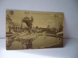 GAND  Gand Prononcé /ɡɑ̃/ En Néerlandais Gent (prononcé ʝɛnt/ BELGIUM BELGIQUE MONUMENT ROS BAYARD DANS LA COUR CPA - Gent