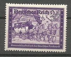 Deutsches Reich Deutschland Germany Mi.778 MNH / ** / Postfrisch 1941 - Nuevos