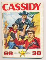 Bande Dessinée CASSIDY N° 164   Hopalong Cassidy L'étrange Vol   -Rocky Lane La Bataille Du Pétrole  -Mustang Gris Et * - Altri