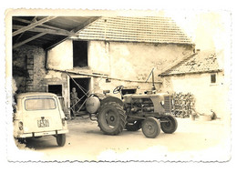 Agriculture- Tracteurs  Photo (  Format 8 X12 ) Réf 8212 - Tractors
