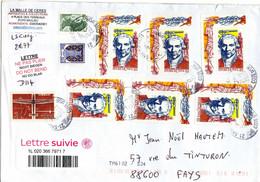 """France 1990 - """"Gaspard Monge"""" Sur Lettre De 2020 - Revolución Francesa"""