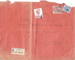 RACCOMANDATA 23 PORTI ANNULLO MILANO N°18 VIA CUNEO - 1946-60: Marcophilia