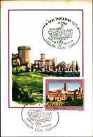 22806) ITALIA-CARTOLINA MAXMUM 900 LIRE Turismo-TARQUINIA - 8ª Emissione - 4 Luglio 1981 - 6. 1946-.. Republic