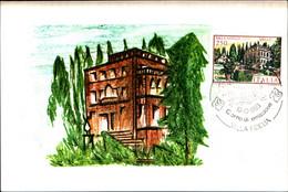 22807) ITALIA-CARTOLINA MAXMUM 250 LIRE VILLA FIDELIA-SPELLO - 4ª Emissione - 10 Ottobre 1983 - 6. 1946-.. Republic