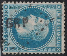 EMPIRE - N°29A - LOSANGE AMBULANT - GRP . - 1849-1876: Classic Period