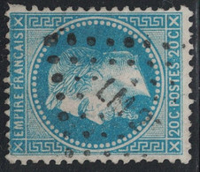 EMPIRE - N°29A - LOSANGE AMBULANT - LM2° - COTE AMBULANT 15€ ET TIMBRE 10€. - 1849-1876: Classic Period