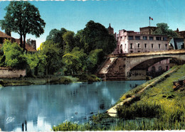 Carte POSTALE Ancienne De   NOGENT Sur SEINE - Moulin, église & Canal - Nogent-sur-Seine