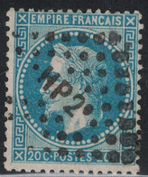 EMPIRE - N°29B - LOSANGE AMBULANT - HP2°. - 1849-1876: Classic Period