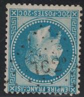 EMPIRE - N°29B - LOSANGE AMBULANT - TC2° - COTE AMBULANT 23€. - 1849-1876: Classic Period