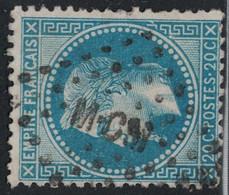 EMPIRE - N°29B - LOSANGE AMBULANT - MCM. - 1849-1876: Classic Period