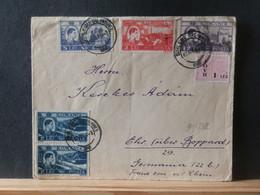 91/852  LETTRE ROUMANIE POUR ALLEMAGNE - Covers & Documents