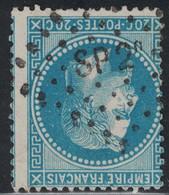 EMPIRE - N°29B - LOSANGE AMBULANT - SP2° - VARIETE DE PIQUAGE. - 1849-1876: Classic Period